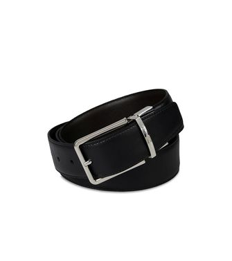 ERMENEGILDO ZEGNA: Belt Dark brown - 46308283AS