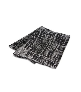 ERMENEGILDO ZEGNA: Foulard Blue - Dark brown - 46308296EA