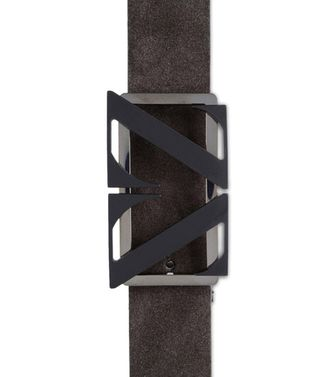 ZEGNA SPORT: Belt Dark brown - 46308298OD