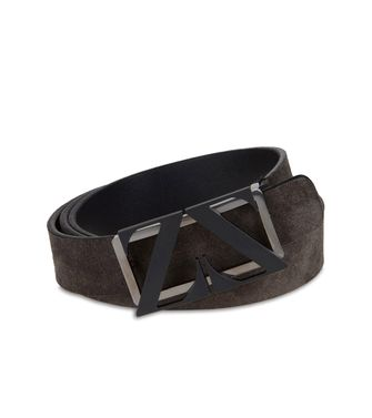 ZEGNA SPORT: Belt Steel grey - 46308298OD