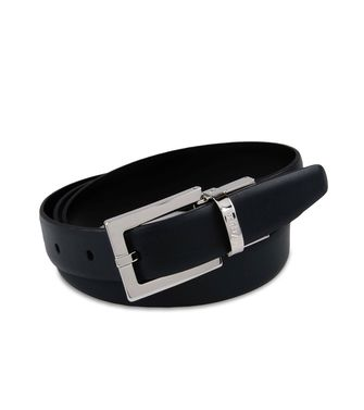 ZZEGNA: Belt Black - Dark brown - 46308300BE