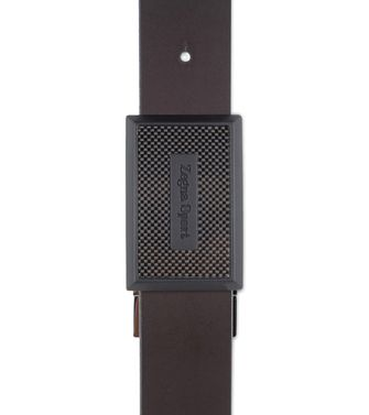 ZEGNA SPORT: Belt Black - Dark brown - 46308303FO