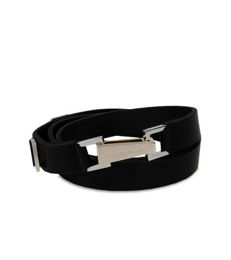 ERMENEGILDO ZEGNA: Belt Black - Dark brown - 46308306XL