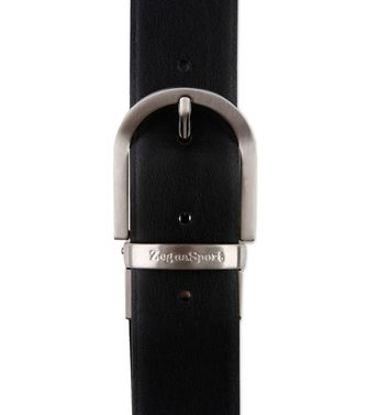 ZEGNA SPORT: Belt Black - Dark brown - 46308312LB