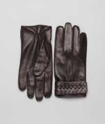 BOTTEGA VENETA - Accessories, Ebano Soft Nappa Gloves