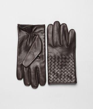 Ebano Intrecciato Soft Nappa Gloves