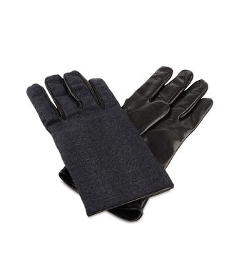 ERMENEGILDO ZEGNA: Gloves Blue - 46308505VU