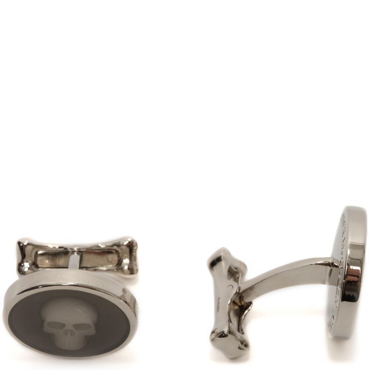 Alexander McQueen, Under Glass Skull Cufflinks