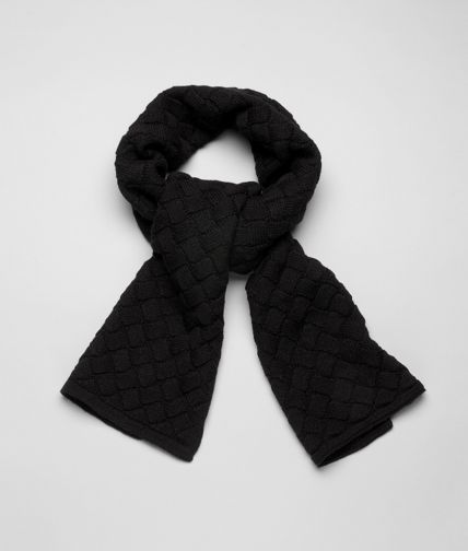 SCARF IN NERO WOOL