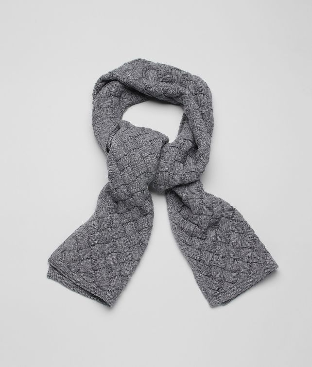 BOTTEGA VENETA Lead Wool Scarf Scarf or Hat or Glove U fp