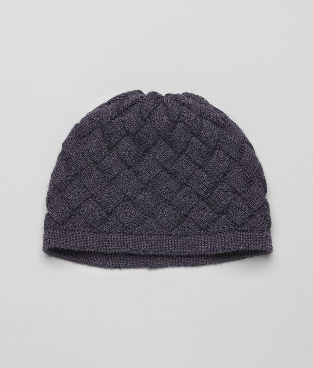 Navy Wool Hat