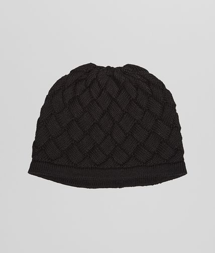 CAPPELLO BLACK IN LANA