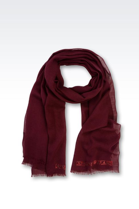 OTHER ACCESSORIES: Foulards Women by Armani - 1