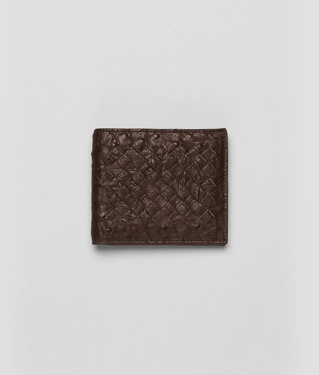 Cioccolato Antique Ostrich Wallet