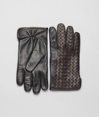 Ebano Nero Intrecciato Soft Nappa Gloves