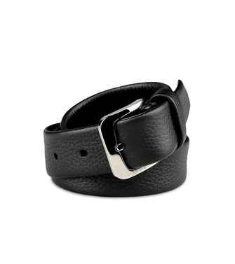 ERMENEGILDO ZEGNA: Belt Steel grey - 46309373MM