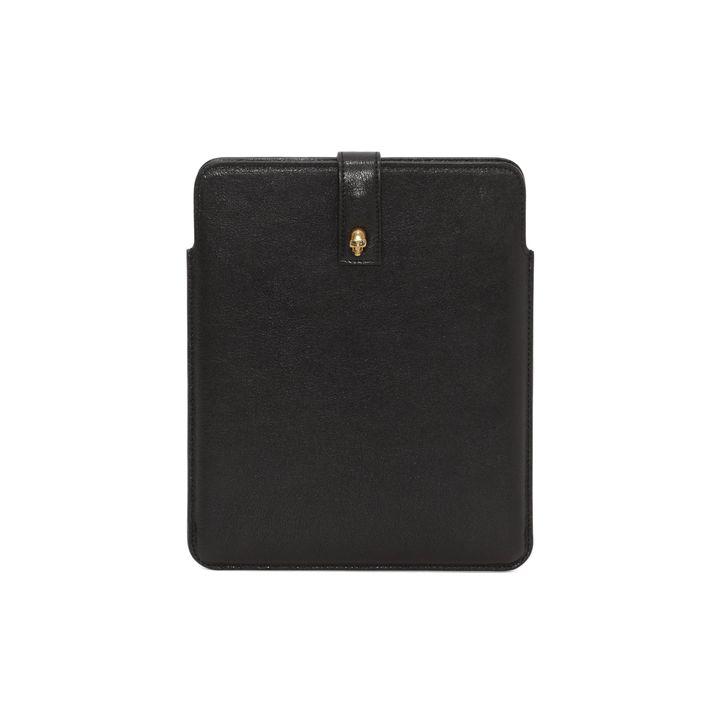 Alexander McQueen, Skull Stud Leather Tablet Case