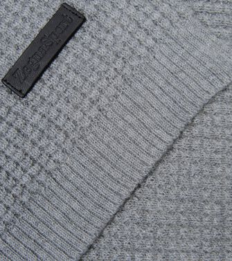 ZEGNA SPORT: Scarf Blue - Light grey - 46309851HU