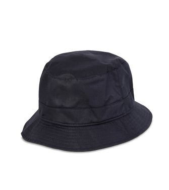 ERMENEGILDO ZEGNA: Hat Blue - Light grey - 46310091QR