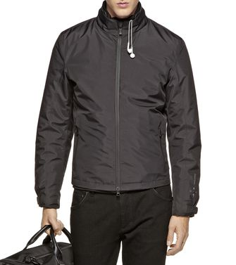 ZEGNA SPORT: Icon Jackets Black - Dark brown - 46310104GS