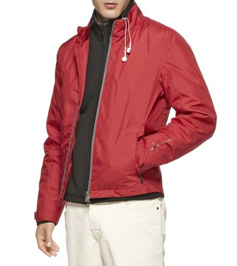 ZEGNA SPORT: Icon Jackets Brick red - Dark brown - 46310104OG