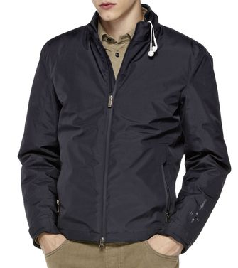 ZEGNA SPORT: Icon Jackets Black - Dark brown - 46310104TC