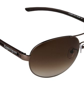 ZEGNA SPORT: Sunglasses Steel grey - 46310566TF