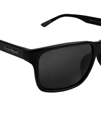 ZEGNA SPORT: Sunglasses Black - 46310572ET