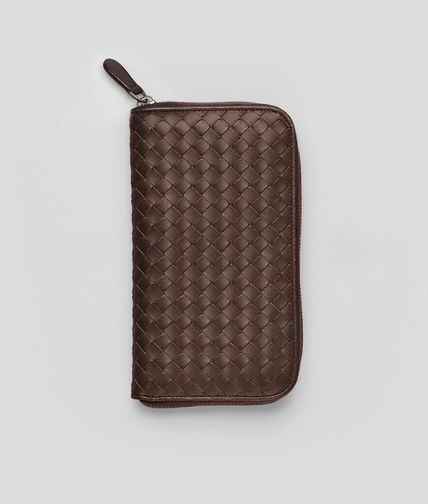 BOTTEGA VENETA - Edoardo Intrecciato VN Zip Around Wallet