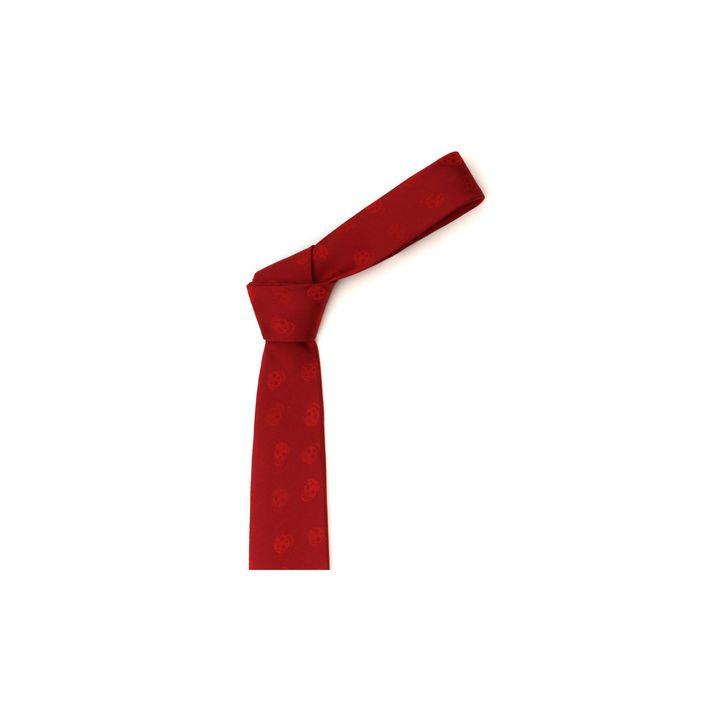 Alexander McQueen, Two-tone Skull Tie