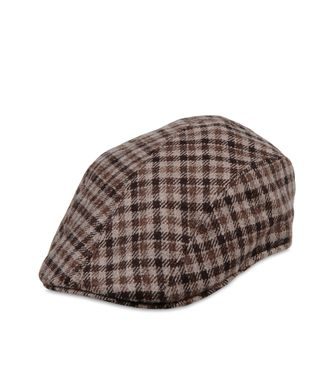 ERMENEGILDO ZEGNA: Hat Blue - Light grey - 46312985IJ