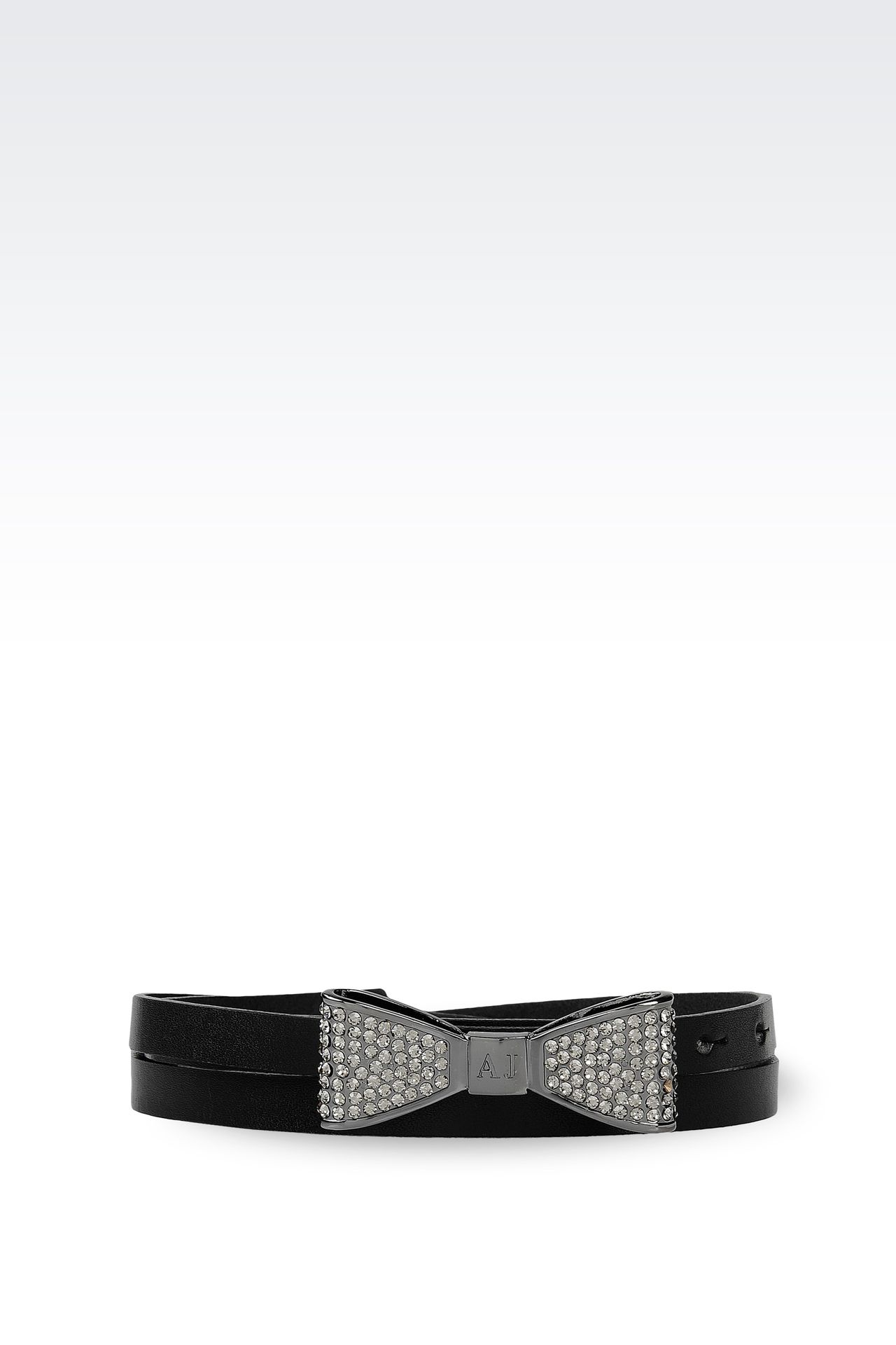 Belts: Leather belt Women by Armani - 0