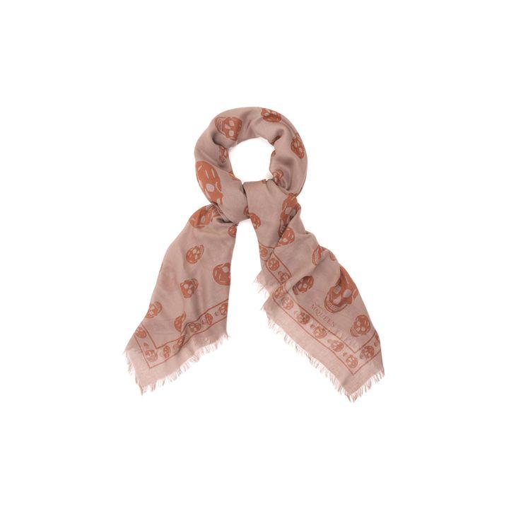Alexander McQueen, Classic silk blend skull scarf