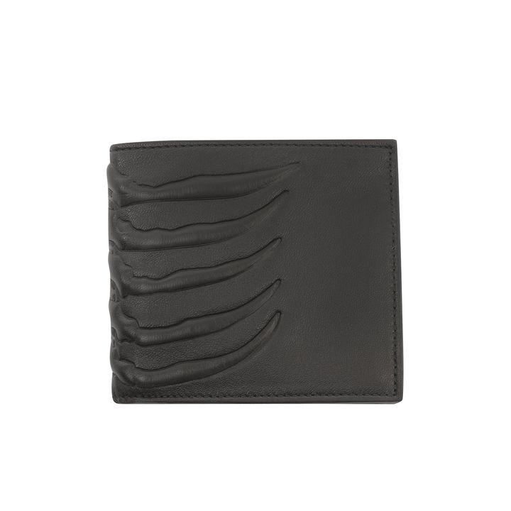 Alexander McQueen, Ribcage Leather Wallet
