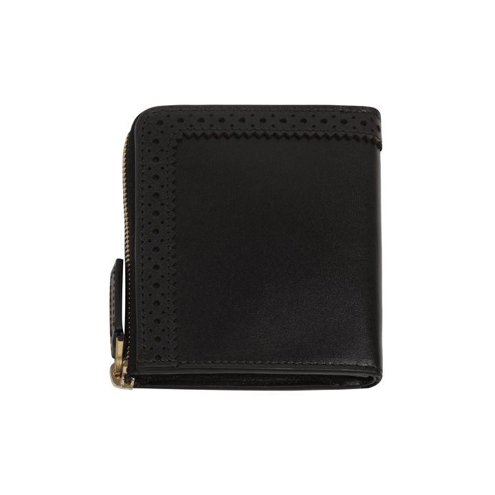 Alexander McQueen, Brogue Detail Zip Around Wallet