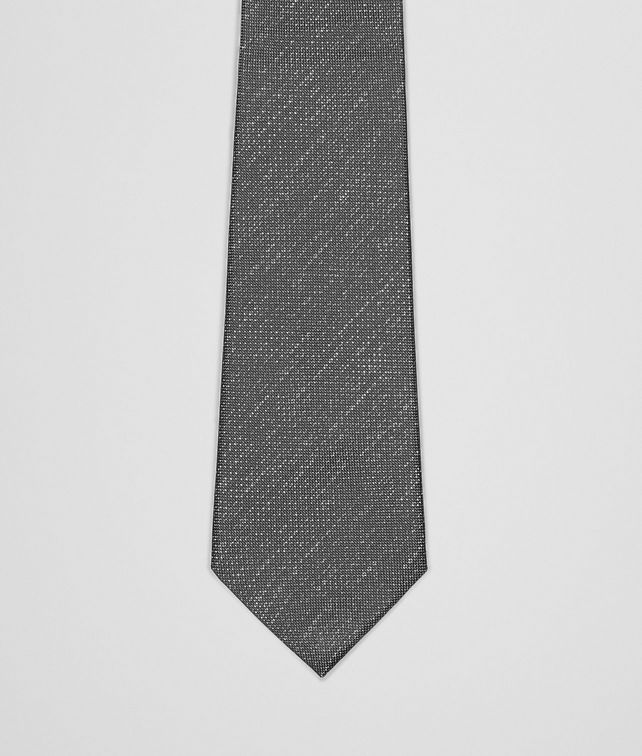 Flannel Dark Grey Silk Tie