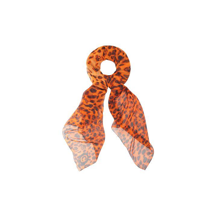 Alexander McQueen, Leopard Skull Silk Scarf