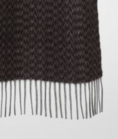 Nero Shadow Cashmere Scarf
