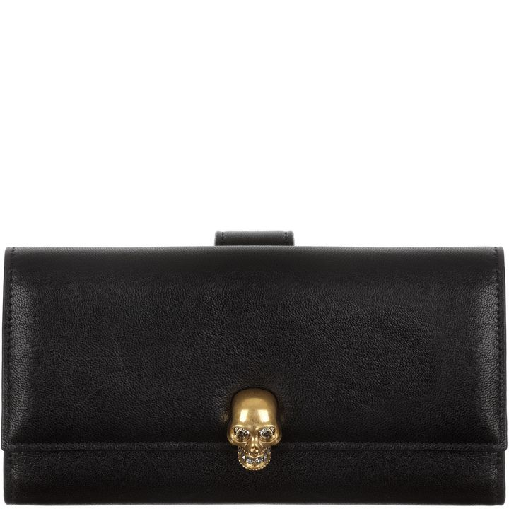 Alexander McQueen, Skull Leather Wallet