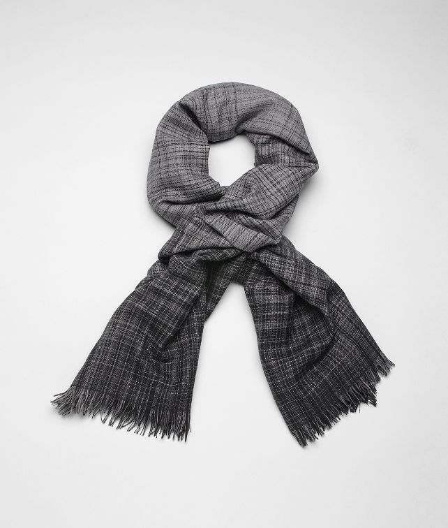 Anthracite Black Wool Scarf