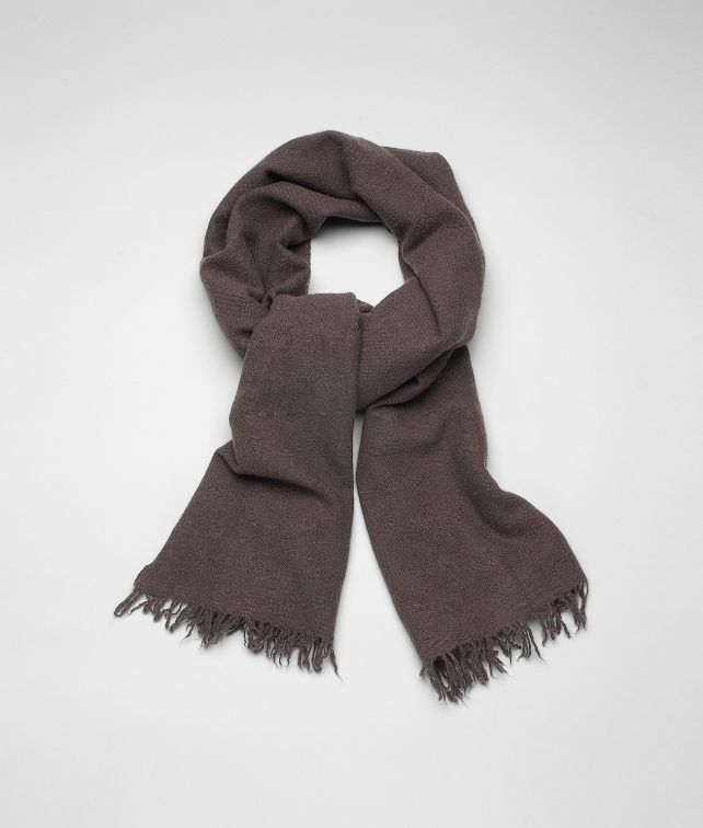 Brown Cashmere Silk Scarf