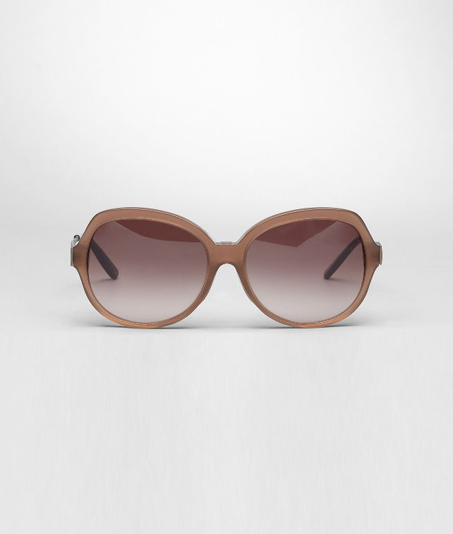 BOTTEGA VENETA Occhiali BV 254 F/S Brown Sfumato in Acetato Comfort Fit Occhiali da Sole D fp
