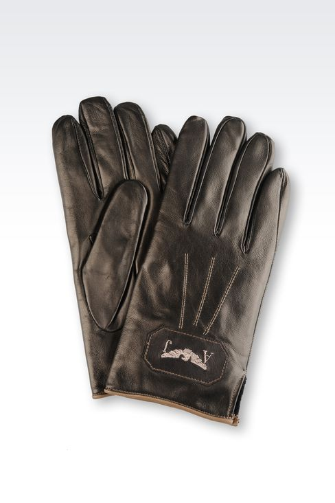 OTHER ACCESSORIES: Gloves Men by Armani - 1