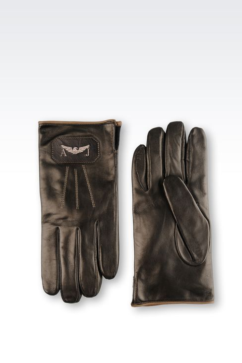 OTHER ACCESSORIES: Gloves Men by Armani - 2