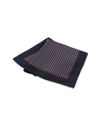 ERMENEGILDO ZEGNA: Pochette Red - Blue - 46318358OR