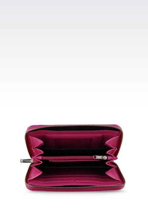 Small leather goods: Wallets Women by Armani - 3