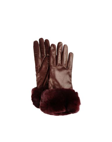 Luxe Fur Trim Gloves
