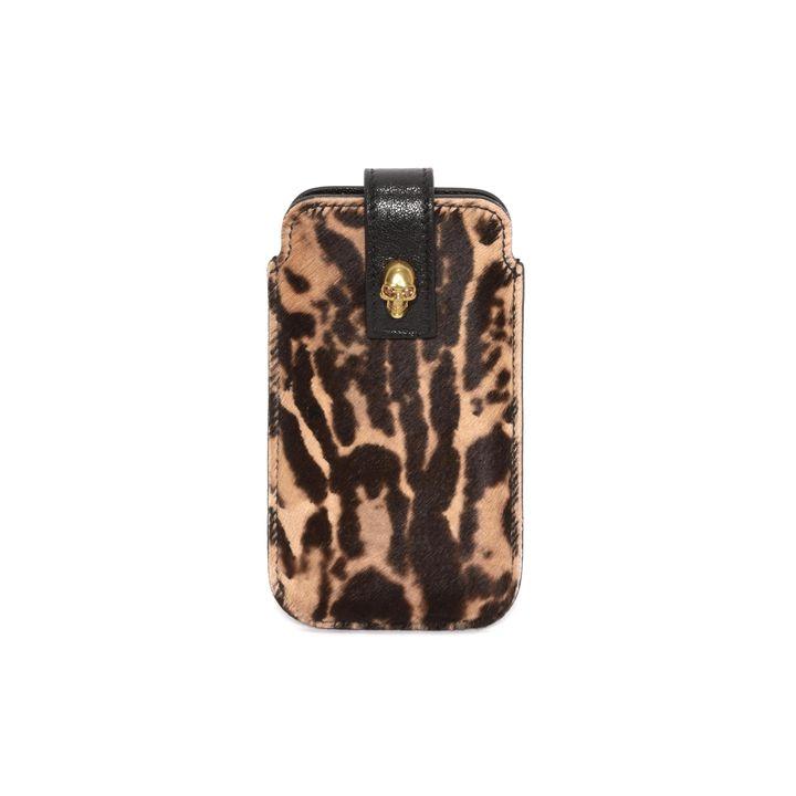 Alexander McQueen, Leopard Pony Phone Case