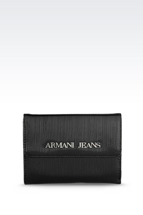 Small leather goods: Wallets Women by Armani - 1