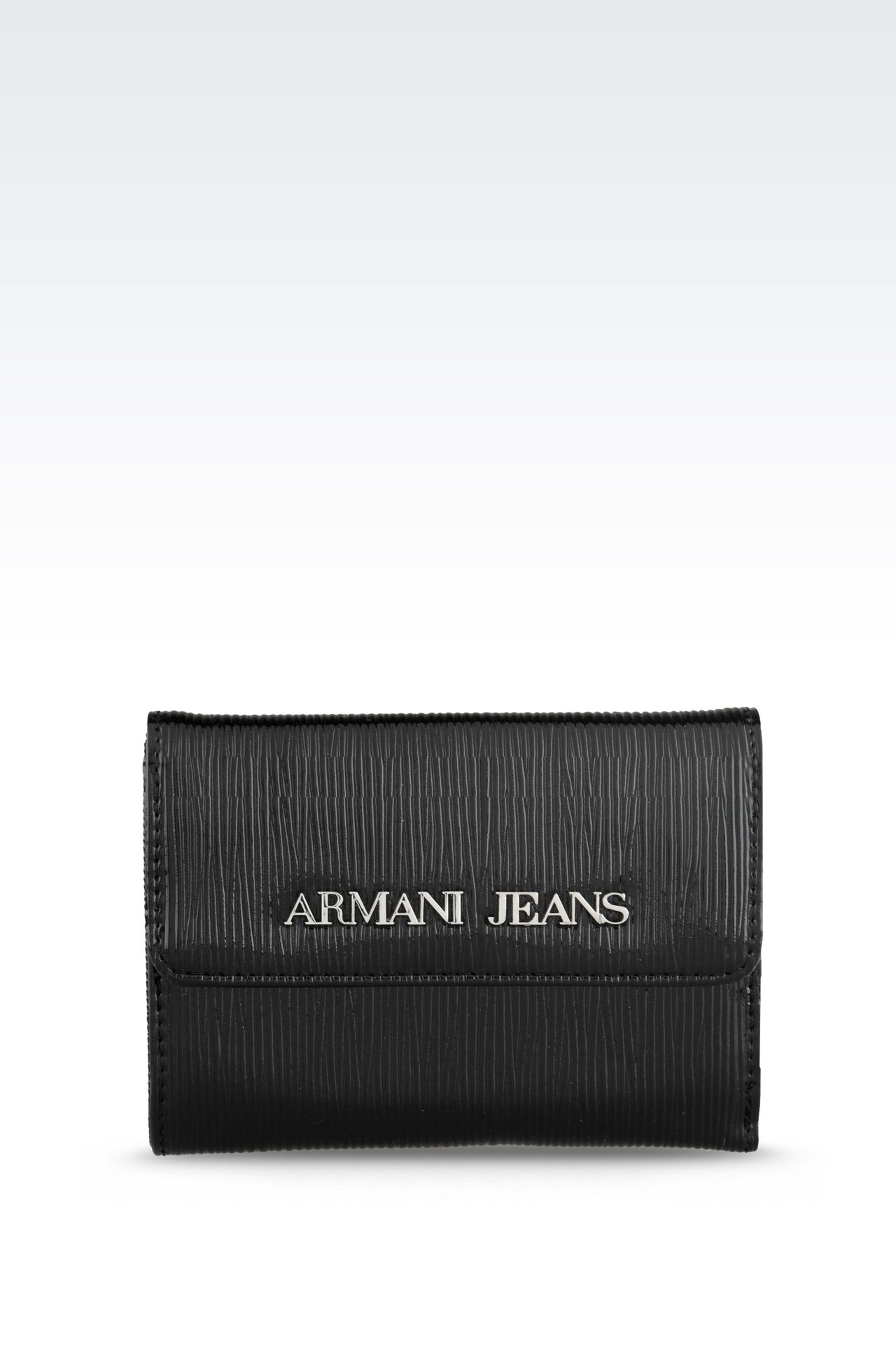 Small leather goods: Wallets Women by Armani - 0